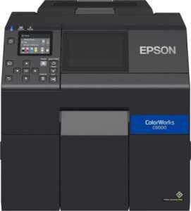Нові настільні принтери Epson для друку ектикеток ColorWorks CW-C6000/C6500