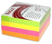 Папір кубик 8,5/8,5 кольоровий клеен.