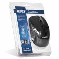 Мишка Sven RX-305 black (безпровідна)