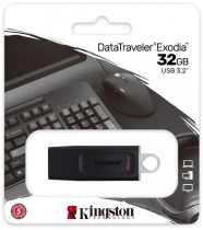 USB Flash 32Gb Kingston DataTraveler Exodia USB3.2