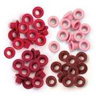Люверс 5 мм, червоні 1000 штук/уп. (шт.)