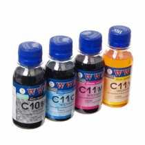 Комплект чорнила CANON PG-510BP/CL511C (C10/11SET4-2) 4х100g WWM