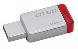 USB Flash 32Gb Kingston DataTraveler 50 USB3.0, 241268