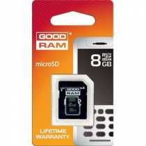 Trans Flash (MicroSD) 8Gb GoodRam (Class 4)+ SD adapter