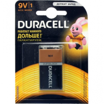 Батарейка Duracell 9V типу Крона industrial