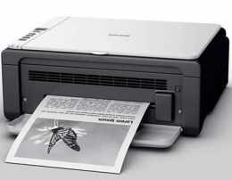 Лазерний чорно-білий роздрук А-4 Текст + кольоровий папір