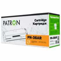Картридж HP №36A LJ P1505 Black (CT-HP-CB436A-PN-R) (PN-36AR) PATRON EXTRA