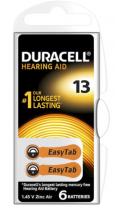 Батарейка Duracell ZA13 для слухових апаратів (за ШТ)