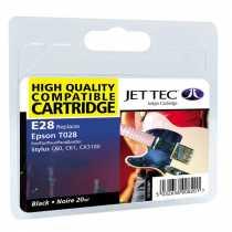 Картридж EPSON Stylus C60 Black (110E002801) E28 JetTec