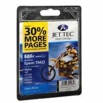 Картридж EPSON Stylus C82 Cyan (9183CJT) E86C JetTec