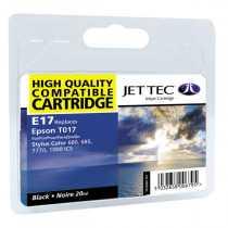 Картридж EPSON Stylus Color 680 Black (110E001701) E17 JetTec