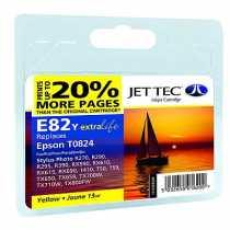 Картридж EPSON Stylus Photo R270 Yellow (101E008204/110E008204) E81/E82Y JetTec