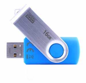 USB Flash 16Gb Goodram Twister UTS2 (UTS2-0160K0R11) USB 2.0