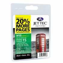 Картридж НP №15 Black (110H001501) H15 JetTec