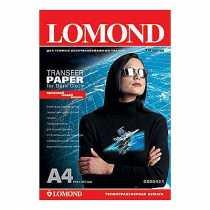 Папір термотрансферний LOMOND A4, для темних тканин, (0808421) 140 г/м кв, 10 арк.