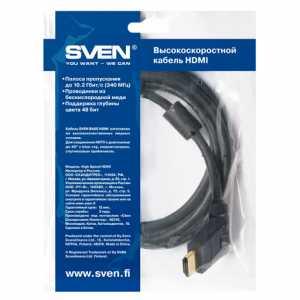 Кабель HDMI  SVEN 1,8 m