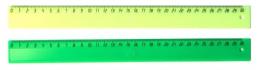 Лінійка  пласт кол. 30 см.