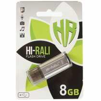 USB Flash 8Gb Hi-Rali Stark Series Silver