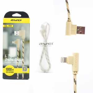 Кабель USB Lightning Awei  CL-92 2м