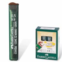 Грiфель  0,5мм НВ, Faber-Castell