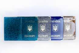 Обкладинка для паспорта України (полімер)