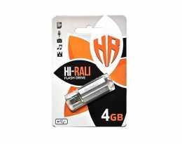 USB Flash 4Gb Hi-Rali Corsair series Silver