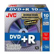 Disk DVD-R 4,7Gb JVC Scratch Proof 16x, CakeBox 25 (за ШТ)