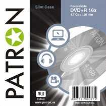Disk DVD+R 4.7Gb PATRON 16x, (Slim case) (INS-D017)