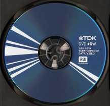 Disk DVD+R 4.7Gb TDK Scratch Proof 16x, slim