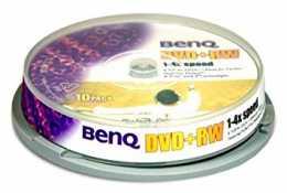 Диск DVD+RW 4.7Gb BENQ 4x slim