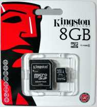 Trans Flash (MicroSD) 8Gb KingSton HC4 +перехідник