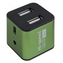 Концентратор USB 2.0 HUB Defender QUADRO IRON