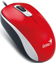 Мишка Genius DX-110 USB Red (31010116104)