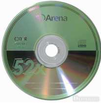 CDR 700Mb Arena 52x, Bulk50 (за ШТ)