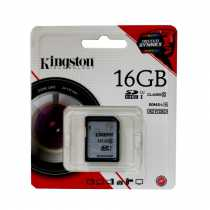 Secure Digital Card 16Gb Kingston SDHC (Class 10)