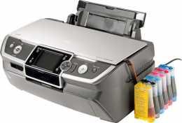 Встановлення СБПЧ на принтер (Epson) А-3 формату
