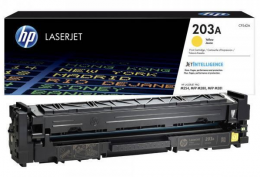 Заправка картриджа HP №203A CLJ Pro M280n Yellow (CF542A)+чіп
