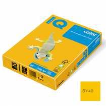 Папір A4 Colour, 80г/м2, А4 (500арк) інтенсив. сонячно-жовтий, SY40