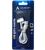 Кабель USB I-Phone 4G Avalanche 1m