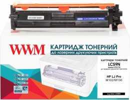 Картридж HP №17A LJ Pro M130 Black (LC59N) WWM