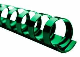 Пластикові пружини 8мм , зелений колір , Bindmark , (100шт)