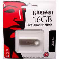 USB Flash 16Gb Kingston DataTraveler SE9, 73548