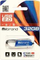 USB Flash 32Gb Mibrand Aligator Blue USB 2.0