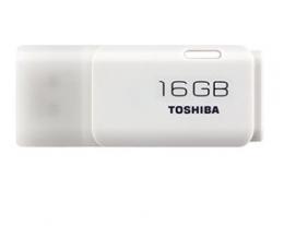 USB Flash 16Gb Toshiba Hayabusa White (THN-U202W0160E4), 119468