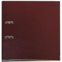 Папка-реєстратор Lux, А4, 50мм, бордова
