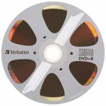 Диск DVD+R 4.7Gb Verbatim Digital Movie, Bulk10, (за ШТ.)