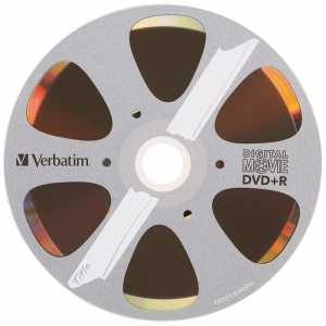 Диск DVD+R 4.7Gb Verbatim Digital Movie, Bulk10, (за ШТ.)