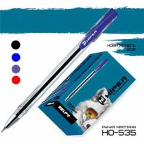 Ручка кулькова масляна Hiper  Selfy,синя