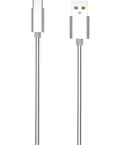 Кабель USB Type-C Nomi DCWQ 10c, 1м Silver , 480526