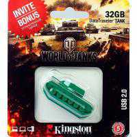 USB Flash 32Gb KINGSTON Custom Rubber Tank